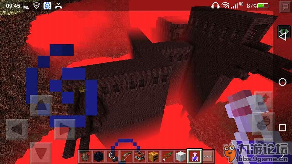 地狱城堡 我的世界图片