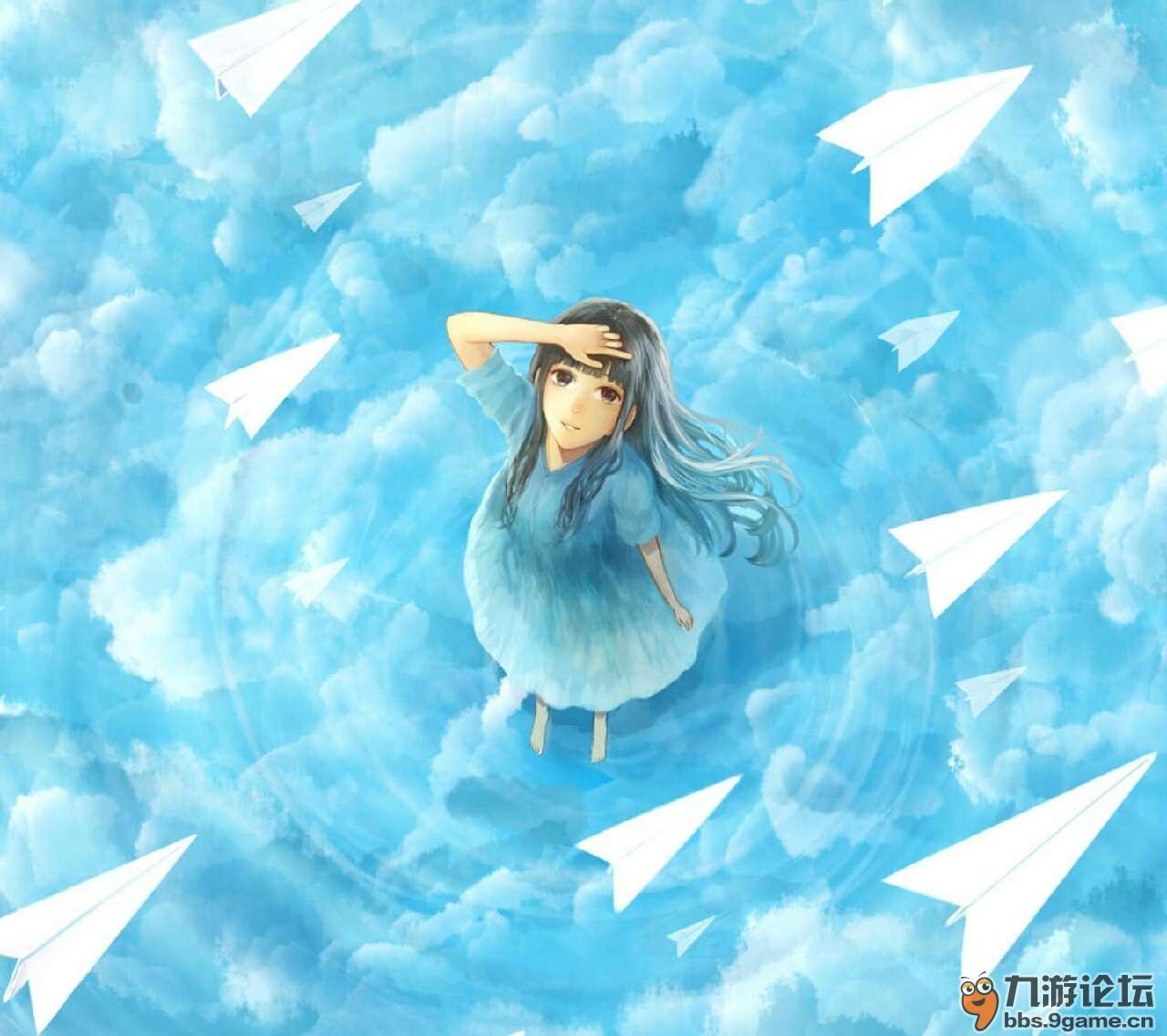 【帝】穿过墙的纸飞机