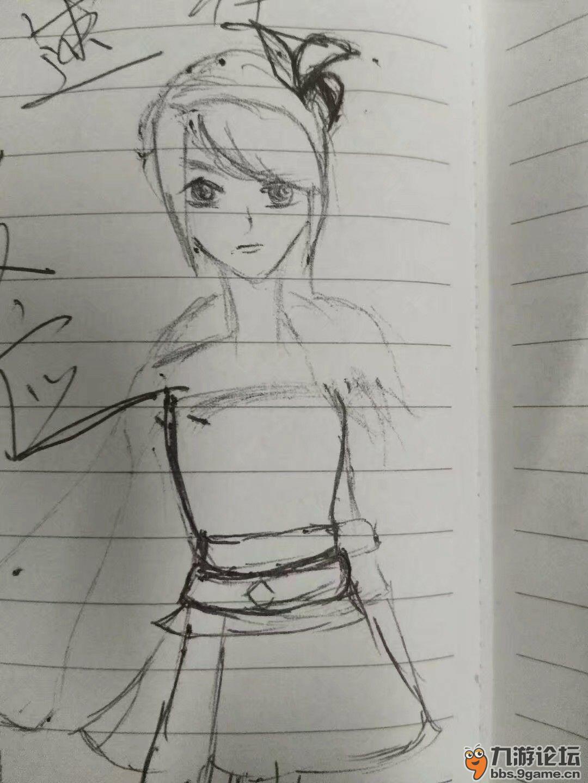 简单素描自动笔画风景