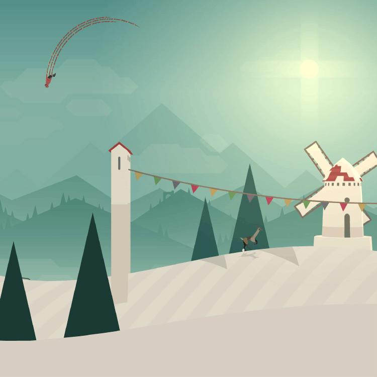 这些唯美的游戏之旅,带你呼吸雪山和荒野的气息