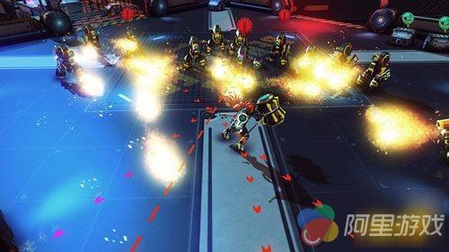 机甲美女爆衣粉碎动作游戏《激战之战》销售登陆视频安利图片